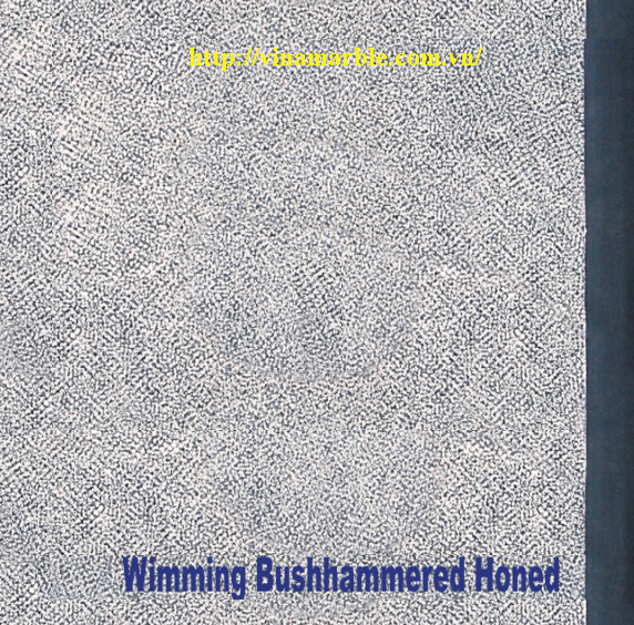 swimming honed bushhammer