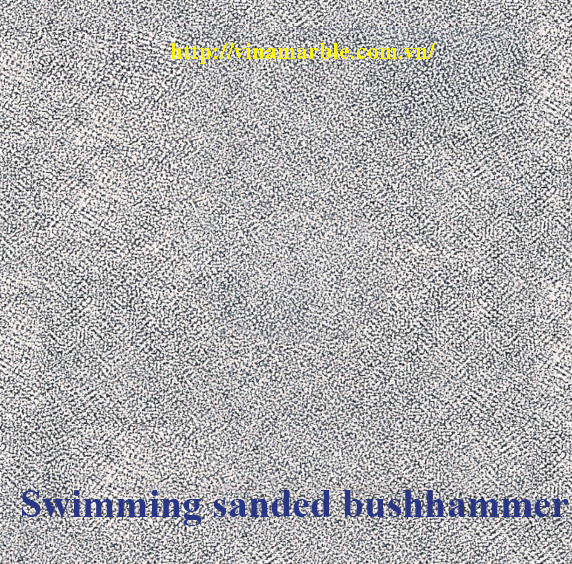 swimming sanded bushhammer